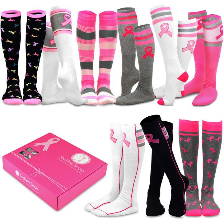 8bcde68c16a Pink Knee High Socks - ShopStyle Canada
