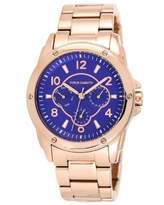 Vince Camuto Women's Quartz Watch with Purple Dial Analogue Display and Rose Gold Bracelet VC/5042BLRG