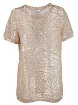Dondup Sequin Embellished T-shirt