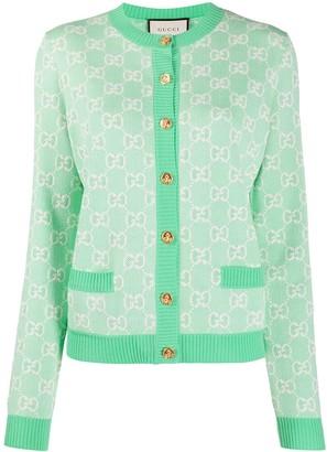 Gucci GG piquet cardigan