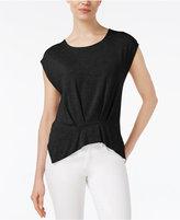 Rachel Roy Pleated T-Shirt, Created for Macy's