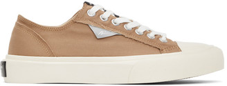 Article No. Brown Vulcanized Low-Top Sneakers