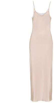 Roche Ryan Exclusive to Mytheresa a silk slip dress