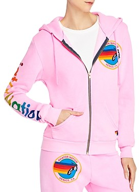 Aviator Nation Graphic Zippered Hoodie - 100% Exclusive