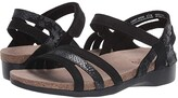 Munro American Summer (Black Combo) Women's Sandals