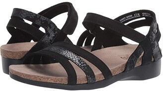 Munro American Summer (Black Combo) Women's Sandals