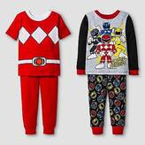 Power Rangers Toddler Boys' ; 4-Piece Pajama Set - Red