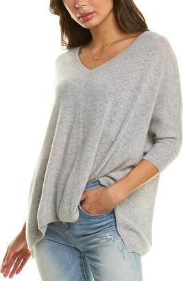 Minnie Rose Pow Wow Cashmere Sweater