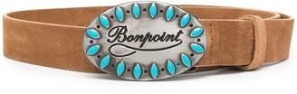 Bonpoint Logo Buckle Belt