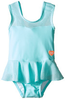 Seafolly Peek A Boo Peplum Tank Top (Infant/Toddler/Little Kids)