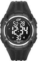 Skechers Men's SR1008 Digital Display Quartz Black Watch
