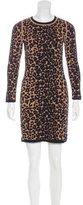 A.L.C. Leopard Pattern Mini Dress
