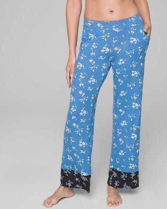 Soma Intimates Pajama Pants with Contrast Band