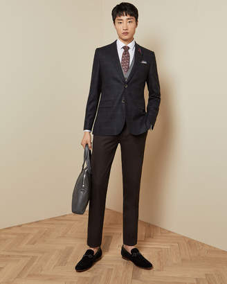 Ted Baker DEGAJKT Tight Lines check wool blazer