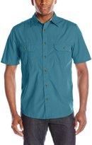 Woolrich Men's Midway Solid Short Sleeve Shirt