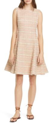 ADEAM Tweed A-Line Dress