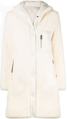 Woolrich Padded Shearling Coat