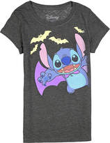 Jerry Leigh Charcoal Stitch Halloween Tee - Girls