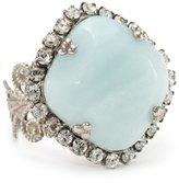 "Sorrelli Aegean Sea"" Divinely Diamond Ring"