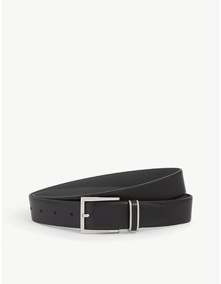 BOSS Canzio textured leather belt
