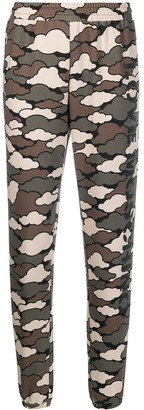 Love Moschino military cloud joggers