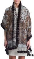 Gorski Fur Double-Face Stole Wrap