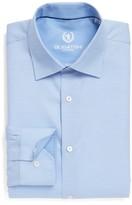 Bugatchi Men's Trim Fit Solid Dress Shirt
