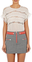 Isabel Marant Women's Spike Lace Top-NUDE