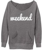Ily Couture Weekend Eco Grey Sweatshirt