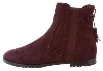 Aquazzura Suede Beatle Boots