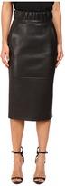 Neil Barrett Leather Pencil Skirt Women's Skirt