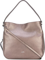 Hogan metallic hobo bag - women - Calf Leather - One Size