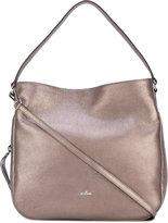 Hogan - metallic hobo bag - women -