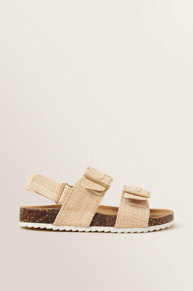 Seed Heritage Woven Buckle Slides