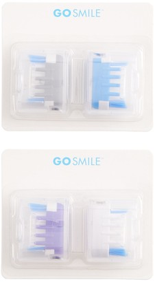 Go Smile Sonic Blue Replacement Brush Heads