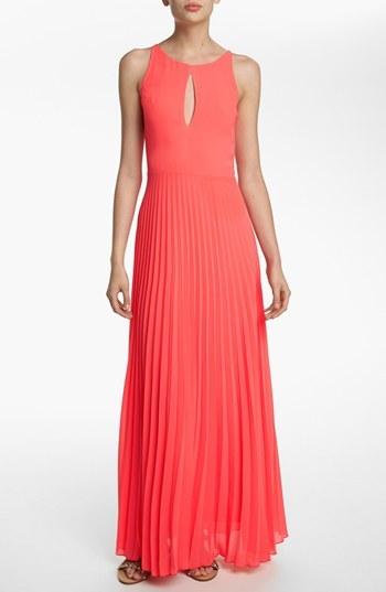 Like Mynded Pleated Maxi Dress