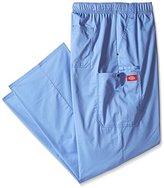 Dickies Men's Big and Tall Evolution Nxt Elastic Waist Scrub Cargo Pant