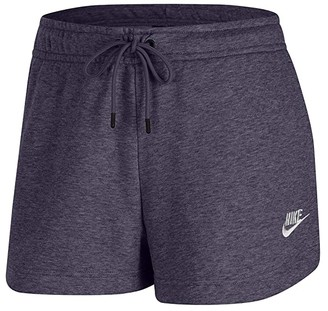 Nike NSW Essential Shorts French Terry (Black/White) Women's Shorts