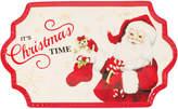 Fitz & Floyd Letters To Santa 14.5In Cookie Platter