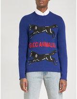 Gucci Animalium wool jumper