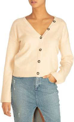 GUESS Vichy Slouch Cardigan