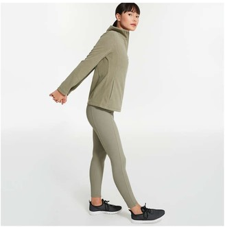 Joe Fresh Women's Mock Neck Jacket, Bright Yellow (Size XL)