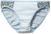 Gap Cotton stretch side panel bikini