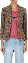 Etoile Isabel Marant Women's Lardy Wool-Blend Single-Button Blazer-BROWN