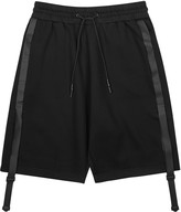 Y-3 Sci-fi Black Cotton Blend Shorts