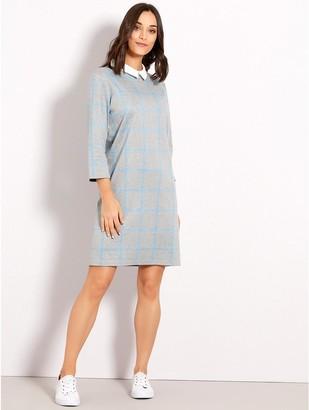 M&Co Check shift dress
