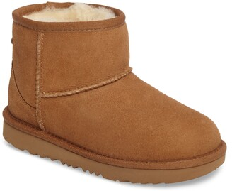 UGG Classic Mini II Water-Resistant Genuine Shearling Boot