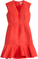 Carven Dress with Ruffled Hem