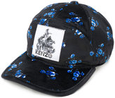 Kenzo floral print patch cap