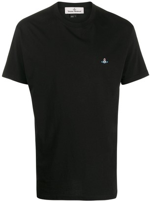 Vivienne Westwood Orb embroidery boxy-fit T-shirt